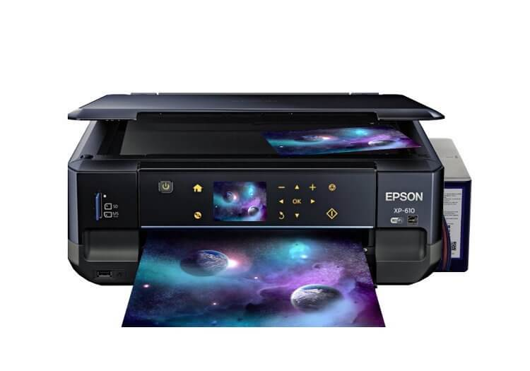 Epson XP-610 Refurbished с СНПЧ 1