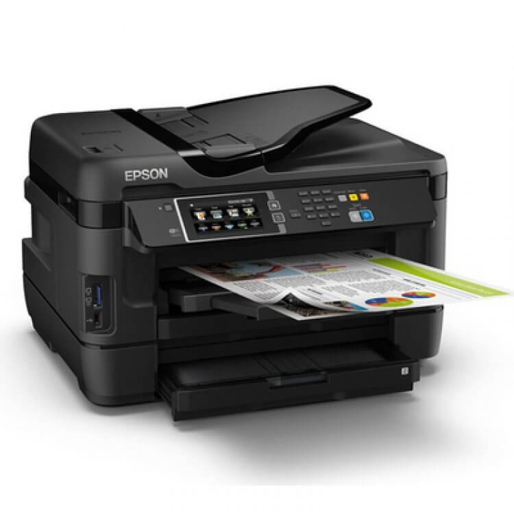 Epson  WF-7620DTWF Refurbished с СНПЧ 2