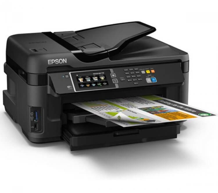 Epson WF-7610DWF Refurbished с СНПЧ 2