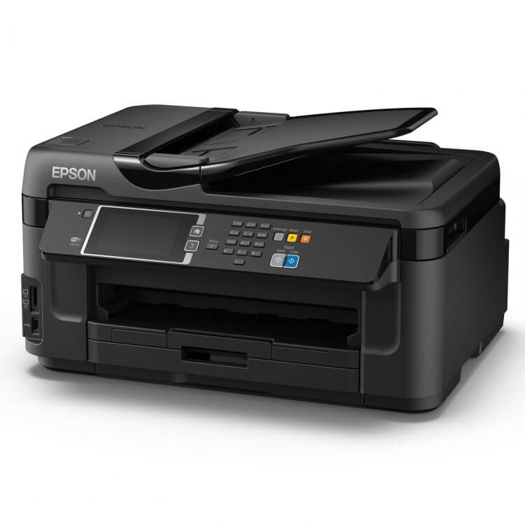 Epson WF-7610DWF Refurbished с СНПЧ 3