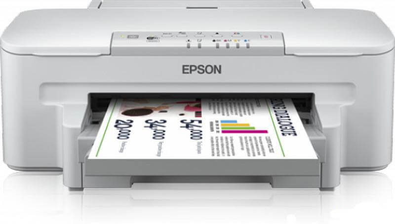 Принтер Epson WorkForce WF-3010DW + СНПЧ C11CC34302