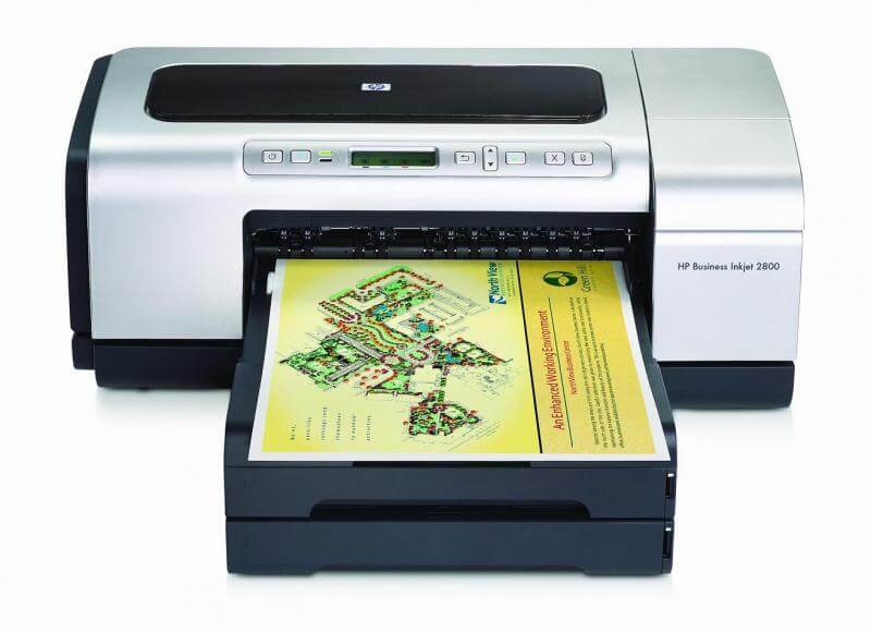 Принтер HP Business InkJet 2800 + СНПЧ