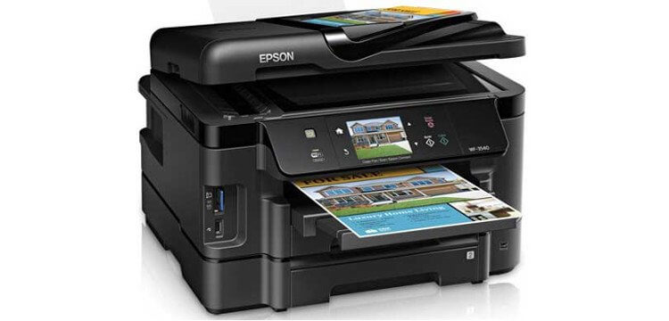 Epson WF-3540 Refurbished с СНПЧ 2