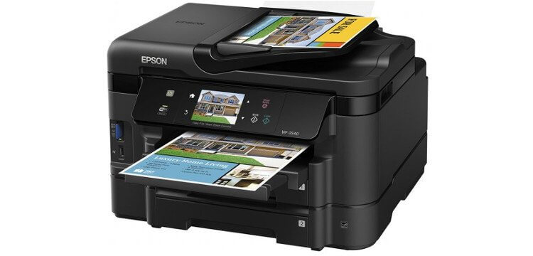 Epson WF-3540 Refurbished с СНПЧ 3