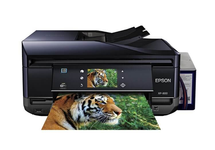 МФУ Epson Expression Premium XP-800 Refurbished + СНПЧ C11CC45311