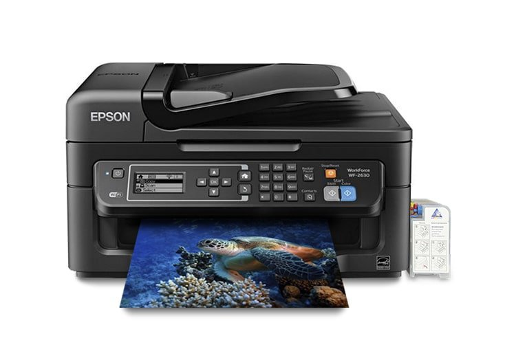 МФУ Epson Workforce WF-2630 + СНПЧ